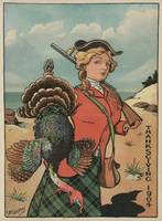 Vintage Thanksgiving Turkey Hunt (1904)