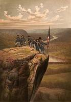 Union soldiers at Point Lookout, Tennessee