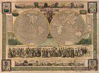 Vintage Map of The World (1847)