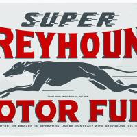 Super Greyhound Motor Fuel Art Prints & Posters by Felix Padrosa