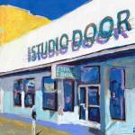 Studio Door Hillcrest San Diego  by RD Riccoboni