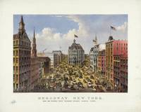 Broadway, New York by Currier & Ives (1875)