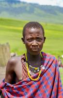 Portrait of Young Maasai 4300