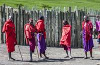 Five Maasai Warriors 4123