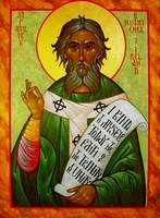 Saint Patrick and Scroll