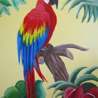 """""""Sonny the Macaw"""" by MelanieLutes"""
