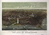The City of Washington Birds-Eye view from the Pot