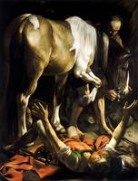 Conversion on the Way to Damascus by Caravaggio (1