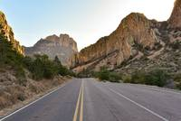 Heading into the Chisos Basin