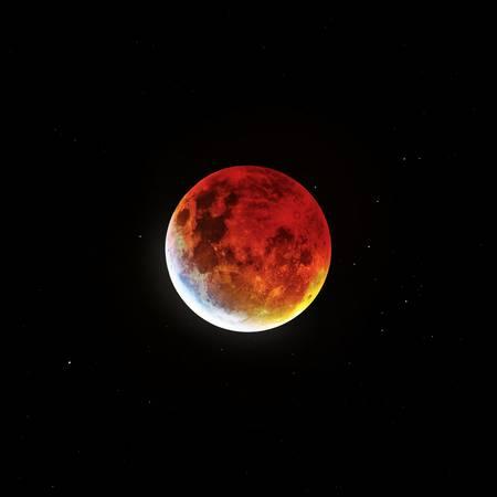 Blood Moon 2019- Wide