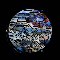 """Fuji Bird Blossoms"" by evelyncurryart"