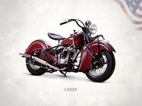 The Indian Chief 1941 Motorcycle