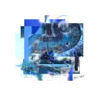 """January Blue"" by evelyncurryart"