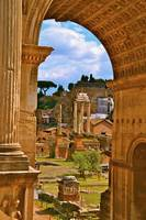 Enter the Roman Forum