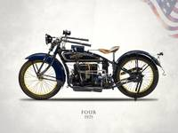 The 1925 Henderson Four Motorcycle