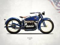 The 1925 Ace Four Motorcycle