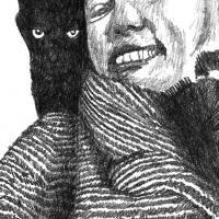 bday_portrait Art Prints & Posters by Marc Szarkowski