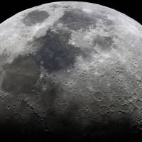 Ultra High Definition Moon- landscape by Andrew McCarthy