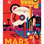 """Nasa Space Travel Mars"" by FineArtClassics"