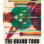 """NASA Grand Tour Space Travel Poster"" by FineArtClassics"