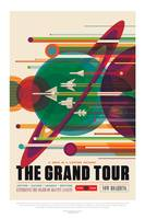 NASA Grand Tour Space Travel Poster