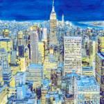 Manhattan Blues New York City Picture by RD Riccoboni