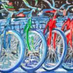 Bicycles - Green Bike by RD Riccoboni