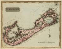 Vintage Map of Bermuda (1823)