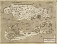 Vintage Map of Bermuda and Jamaica (1767)