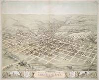 Vintage Pictorial Map of Council Bluffs (1868)