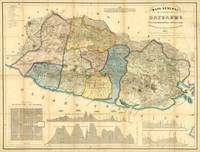 Vintage Map of El Salvador (1858)