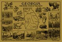 Vintage Map of Georgia (1912) - Tan