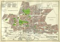 Vintage Johannesburg South Africa Map (1913)