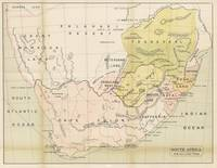 Vintage Map of South Africa (1882)