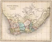 Vintage Map of South Africa (1832)