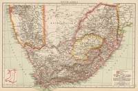 Vintage Map of South Africa (1895)