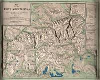 Vintage White Mountains Physical Map (1872)
