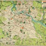 Vintage Map of Wroclaw Poland (1910) Prints & Posters
