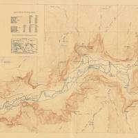 Vintage Map of Yosemite Valley (1907) Art Prints & Posters by Vintage Map Store