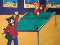 Table Tennis Cats