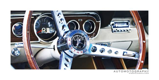 Ford Mustang Cockpit