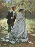Bazille and Camille by Monet