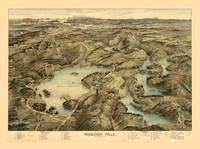 Aerial View of Middlesex Fells, Massachusetts (190