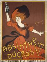 Absinthe Ducros Fils by Leonetto Cappiello