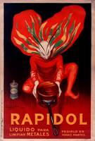 Rapidol Metal Polish by Cappiello Vintage Poster