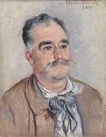 Portrait of Monsieur Coquette, Father by Monet