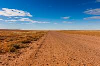 The Oodnadatta Track in Australian Outback