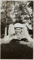 [Young man on the grass] ca. 1940 Gelatin silver p