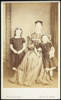 Mother and daughters, 1860s, Dunedin, by Burton Br