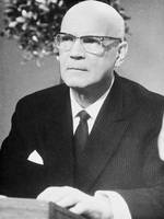 Urho Kekkonen, President of the Republic elected f